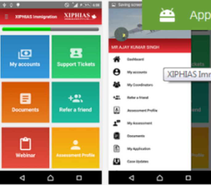 Xiphias Immigration App