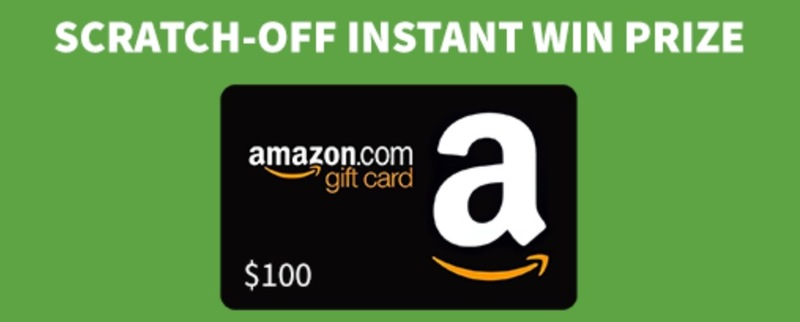 Win 1 of 100 Amazon Gift Cards Instantly!
