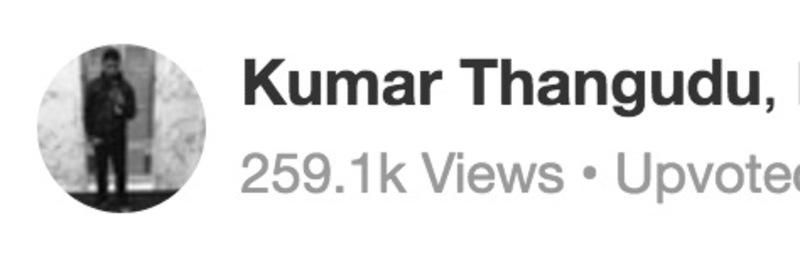 Kumar Thangudu
