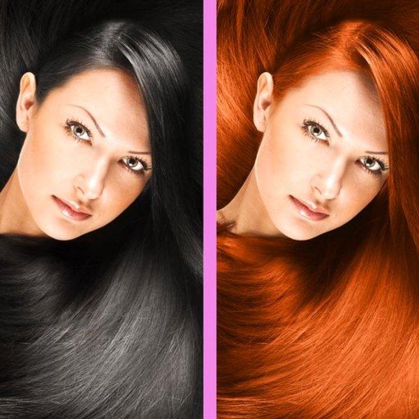 Hair Dyes - Magic Salon | iOS