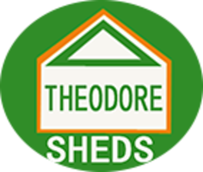 Theodore garden shed and greenhouse