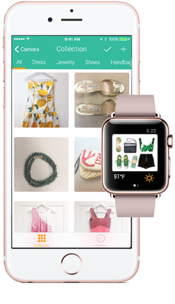 VeeV, the style app with visual search