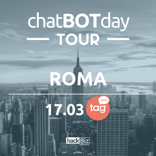 CHATBOTDAY ROMA 17.03.2017