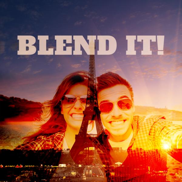 Blend Me - Photo Blender Background