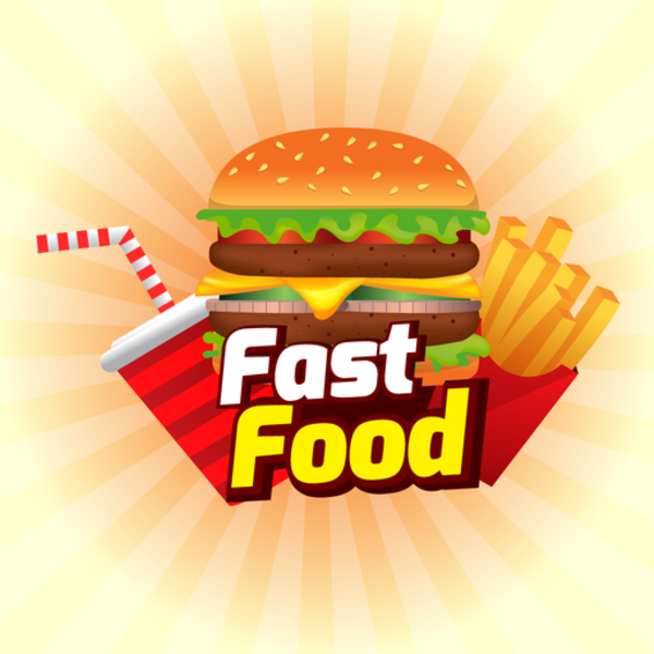 Fast Food iMessage Stickers for iOS